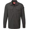 Craghoppers NosiLife Adventure overhemd en blouse lange mouwen Heren zwart